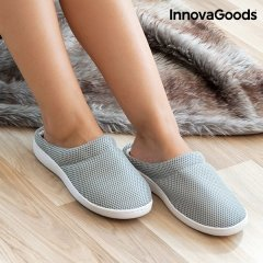 Chaussons avec Gel Confort Bamboo InnovaGoods L