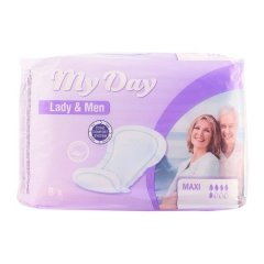 Compresses pour Incontinence Maxi My Day (8 uds)