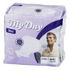 Compresses pour Incontinence Men Active My Day (14 uds)