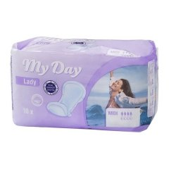 Compresses pour Incontinence Midi My Day (10 uds)