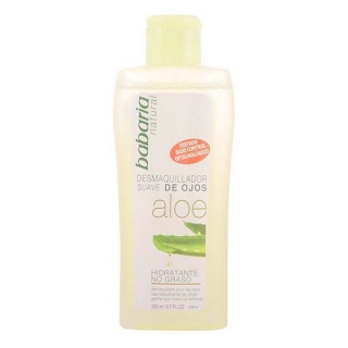 Démaquillant yeux Babaria Aloe vera 200 ml