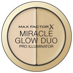 Éclaircissant Miracle Glow Duo Max Factor 20 - Deep - 11 g