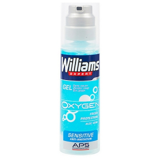 Gel de rasage Expert Oxygen Sensitive Williams (150 ml)