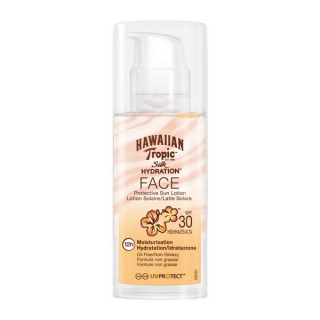 Lotion Solaire Silk Face Hawaiian Tropic Spf 30 (50 ml)