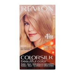 Teinture sans ammoniaque Colorsilk Revlon Blond clair cendré